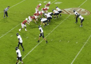 Option offenses can be based on a variety of formations.