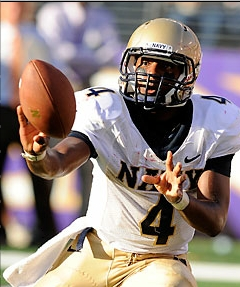 Navy is commonly associated with an option offense.