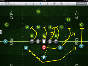 Tackle Football Playmaker screenshot.